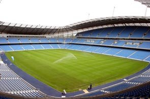 The City of Manchester Stadium, Eastlands or Etihad