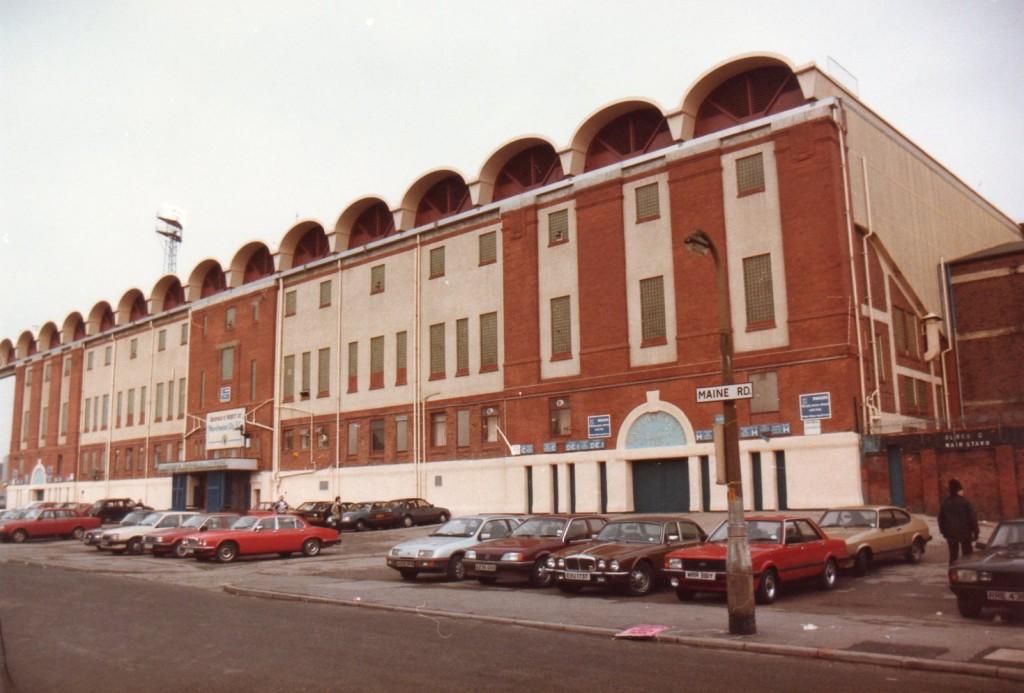 Main Road Main Stand 1985