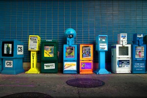 Newspaper Stands