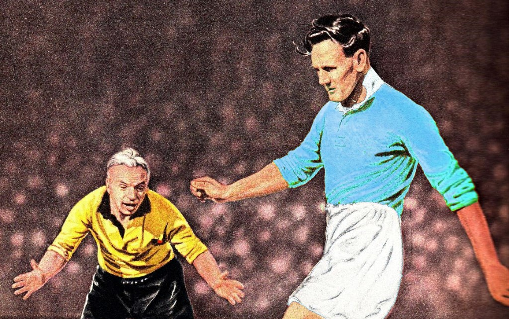 Don Revie in action