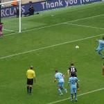 Aguero spot kick