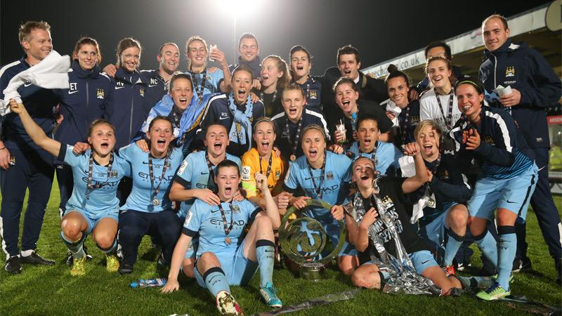 MCFC ladies-champions