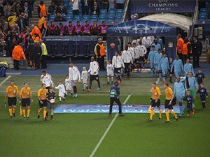 MCFC vs AS Roma