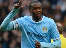 Yaya Toure for Manchester City