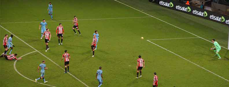 Yaya strike against Sunderland